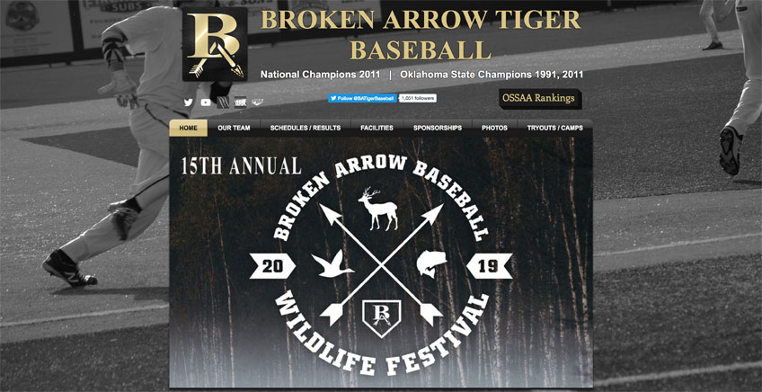 Broken Arrow High School Baseball