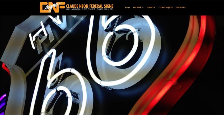 CNF Sign Company Tulsa