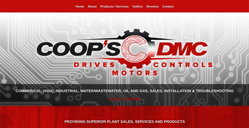 Coops Website Design Tulsa