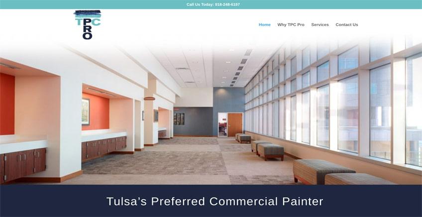 TPC Pro Tulsa Web Design