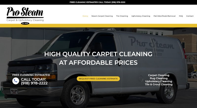 Carpet Website Design